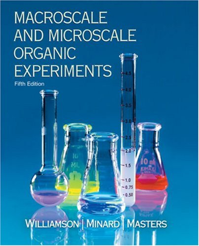 Macroscale and Microscale Organic Experiments  5th 2007 edition cover