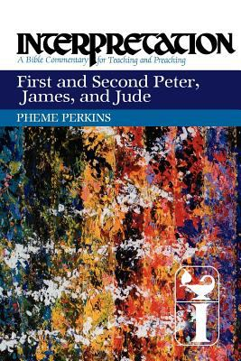 First and Second Peter, James, and Jude Interpretation - A Bible Commentary for Teaching and Preaching  2012 edition cover