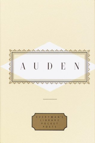 Auden: Poems  N/A edition cover