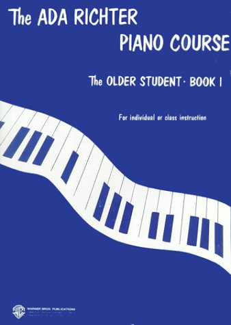 Ada Richter Piano Course -- the Older Student, Bk 1   1976 edition cover