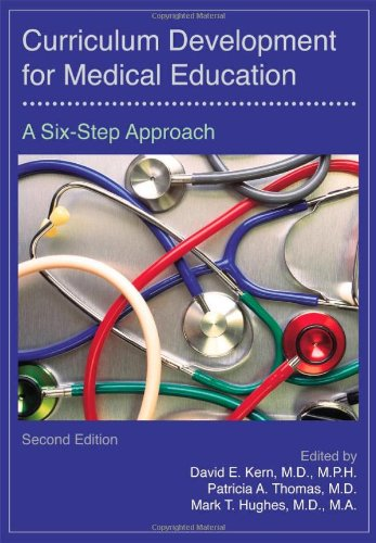 Curriculum Development for Medical Education A Six-Step Approach 2nd 2009 edition cover