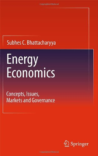 Energy Economics Concepts, Issues, Markets and Governance  2011 edition cover