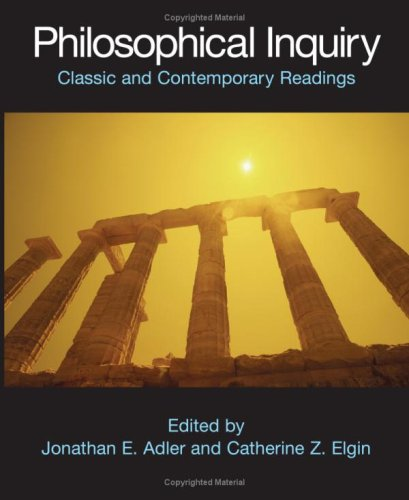 Philosophical Inquiry Classic and Contemporary Readings  2007 edition cover