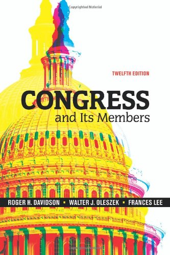 Congress and Its Members  12th 2009 (Revised) edition cover