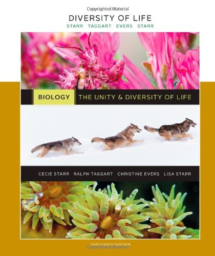 Volume 3 - Diversity of Life  13th 2013 edition cover