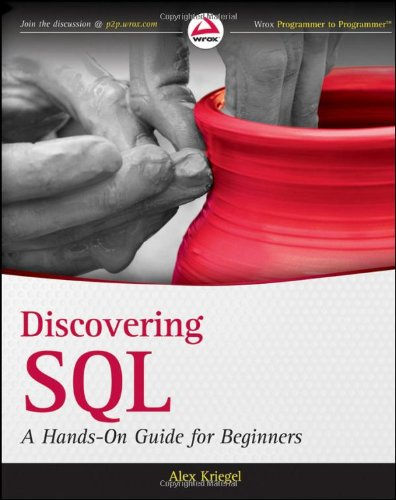 Discovering SQL A Hands-On Guide for Beginners  2011 edition cover
