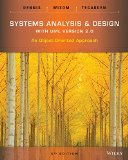 Systems Analysis and Design: An Object Oriented Approach With Uml  2014 edition cover