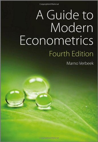 Guide to Modern Econometrics  4th 2012 9781119951674 Front Cover