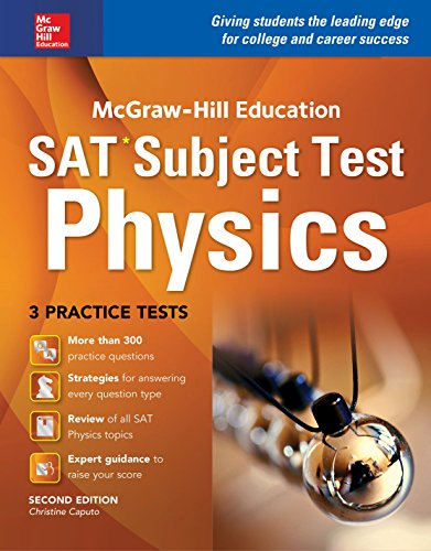 McGraw-Hill Education SAT Subject Test Physics 2nd Ed  2nd 2016 9781259583674 Front Cover