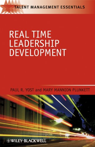 Real Time Leadership Development  5th 2009 9781405186674 Front Cover