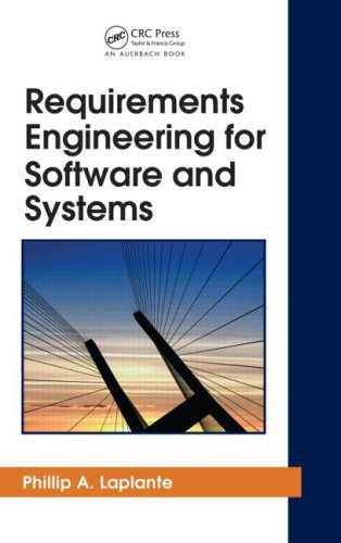 Requirements Engineering for Software and Systems   2009 edition cover