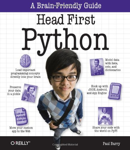 Head First Python   2010 edition cover