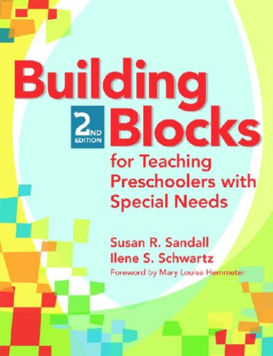 Building Blocks for Teaching Preschoolers with Special Needs  2nd 2008 edition cover