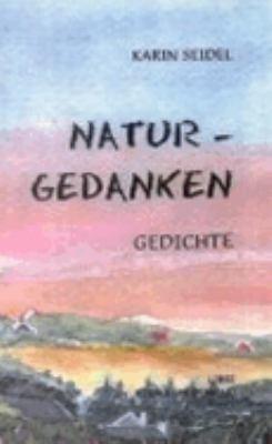 Naturgedanken, Gedichte  N/A 9783831107674 Front Cover