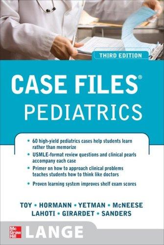 Case Files - Pediatrics  3rd 2010 9780071598675 Front Cover