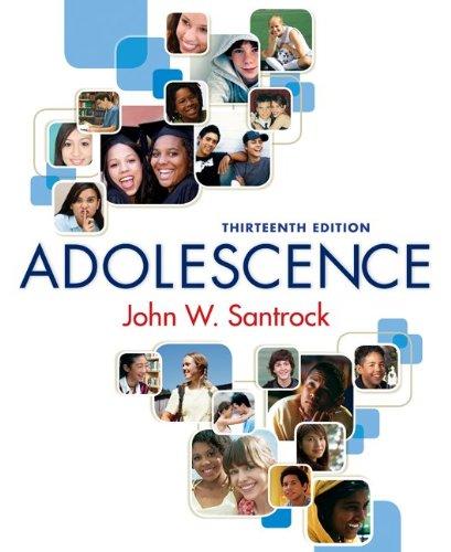 Adolescence  13th 2010 edition cover
