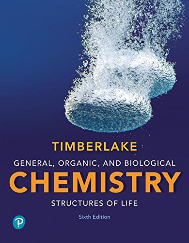 General, Organic, and Biological Chemistry + Masteringchemistry With Pearson Etext Access Card: Structures of Life  2018 9780134804675 Front Cover