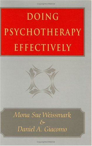 Doing Psychotherapy Effectively   1998 9780226891675 Front Cover
