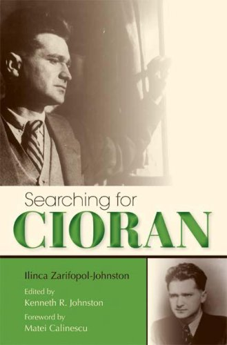 Searching for Cioran   2009 9780253352675 Front Cover