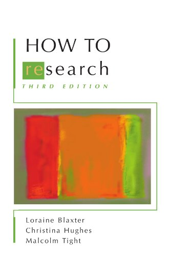 How to Research  4th 2010 edition cover