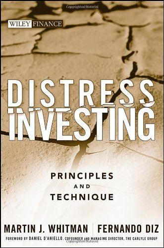 Distress Investing Principles and Technique  2009 edition cover