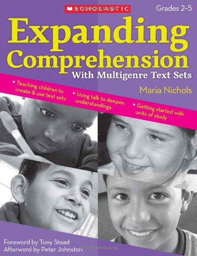 Expanding Comprehension with Multigenre Text Sets   2009 edition cover