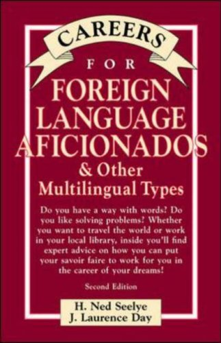 Careers for Foreign Language Aficionados and Other Multilingual Types  2nd 2001 edition cover