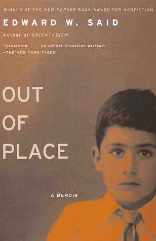 Out of Place A Memoir Reprint  edition cover