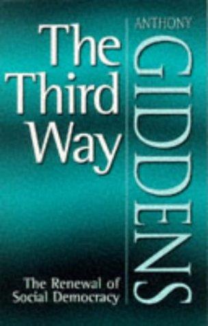 Third Way The Renewal of Social Democracy  1998 edition cover