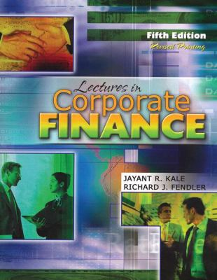 Lectures in Corporate Finance  5th (Revised) edition cover