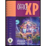 MICROSOFT OFFICE XP-W/2 CDS 1st 9780763819675 Front Cover