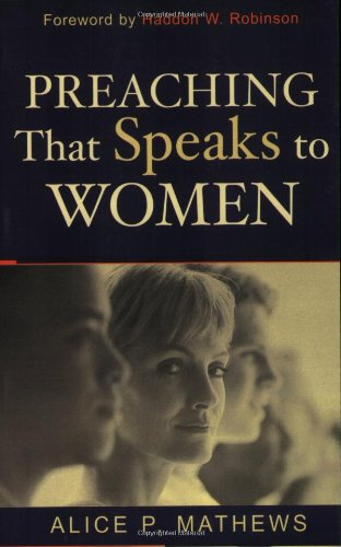 Preaching That Speaks to Women   2003 edition cover