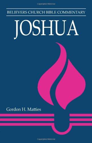 Joshua   2012 edition cover