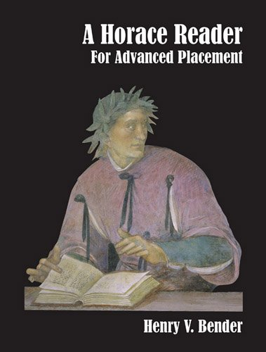 Horace Reader for Advanced Placement   1998 9780941051675 Front Cover