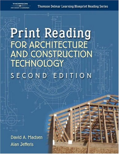 Print Reading for Architecture and Construction  2nd 2005 (Revised) 9781401851675 Front Cover