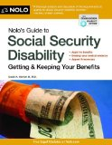 Nolo's Guide to Social Security Disability Getting and Keeping Your Benefits 7th edition cover