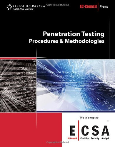Penetration Testing Procedures and Methodologies  2010 edition cover