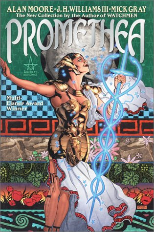 Promethea The New Collection by the Author of Watchmen  2001 edition cover