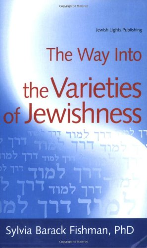 Way into the Varieties of Jewishness   2008 edition cover