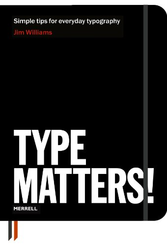 Type Matters!   2011 edition cover