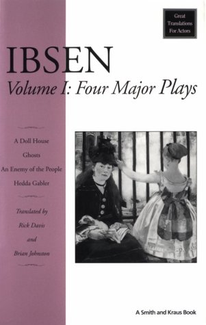 Ibsen Vol. 1 : 4 Major Plays 1st edition cover
