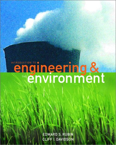 Introduction to Engineering and the Environment   2001 edition cover