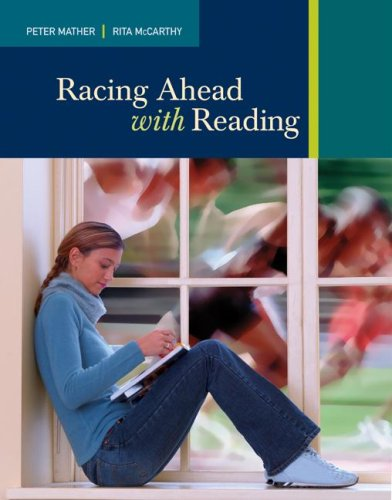 Racing Ahead with Reading   2009 edition cover