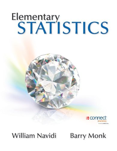 Elementary Statistics   2013 edition cover