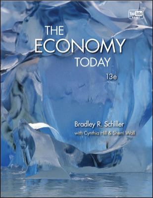 Economy Today with Connect Plus  13th 2013 9780077630676 Front Cover