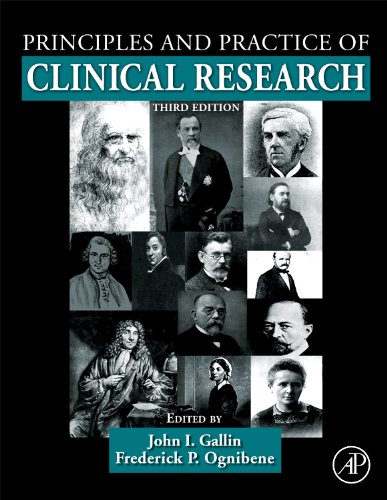 Principles and Practice of Clinical Research  3rd 2012 edition cover
