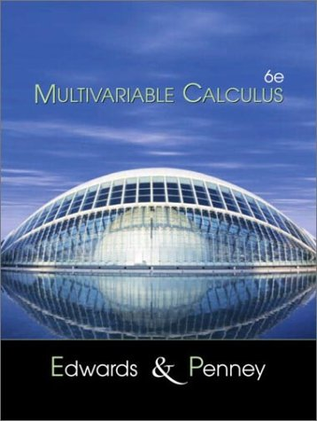 Multivariable Calculus  6th 2002 (Revised) edition cover