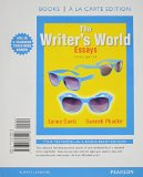 Writer's World Essays, Books a la Carte Plus MyWritingLab with Pearson EText -- Access Card Package 3rd 2015 edition cover