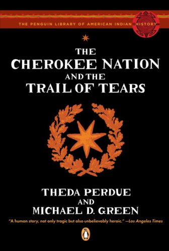 Cherokee Nation and the Trail of Tears  N/A edition cover