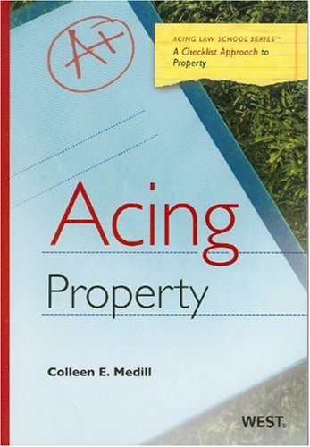 Acing Property   2009 edition cover